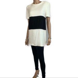 Liz Claiborne Color Block Mini Dress Tunic